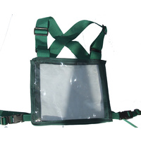 Ecotak Cross Country/Endurance Back Number Holder - Bottle Green