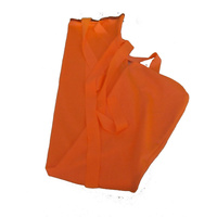 Orange rugless lycra tail bag