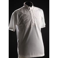 PEI (Premier Equine) Teque-style Mens Short Sleeved Stock Shirt - White