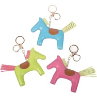 Harry's Horse Leather Horse Key Ring