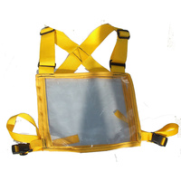 Ecotak Cross Country/Endurance Back Number Holder - Yellow