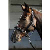 Harry's Horse Mesh Nose Net - Black