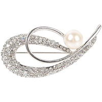 Harry's Horse Silver Stock Pin - Pearl