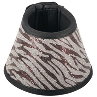 Harrys Horse Safari Over Reach Bell Boots Zebra Print
