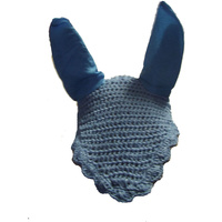 Ecotak Crochet Bonnet/Ear Net - Blue Full size