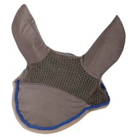 Harry's Horse SU16 Fly Veil/Ear Bonnet Net - Dark Gull Grey Full Size
