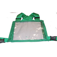 Ecotak Cross Country/Endurance Back Number Holder - Emerald Green