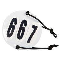Harry's Horse 3 digit Bridle Numbers (pair)