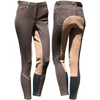 Harry's Horse Monaco denim sticky bum jodhpurs/breeches - Brown