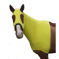 Ecotak lycra skinny hood with bib. Yellow