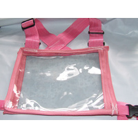 Ecotak Cross Country/Endurance Back Number Holder - Pink