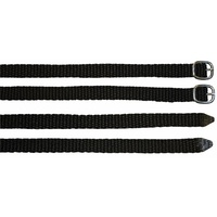 Harry's Horse Nylon Spur Straps Black