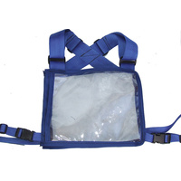 Ecotak Cross Country/Endurance Back Number Holder - Royal Blue