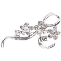Harry's Horse Silver Stock Pin - Flower Bow