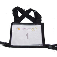 Ecotak Cross Country/Endurance Back Number Holder - Black