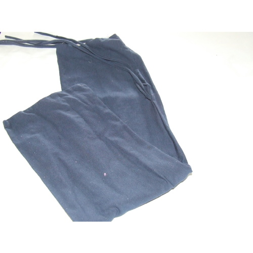 Ecotak Lycra Rugless Horse Tail Bag - Navy Blue [size: Small Pony]
