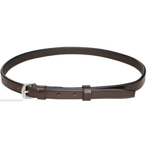 Harrys Horse Replacement Flash/Hanovarian Noseband Strap - Brown Full