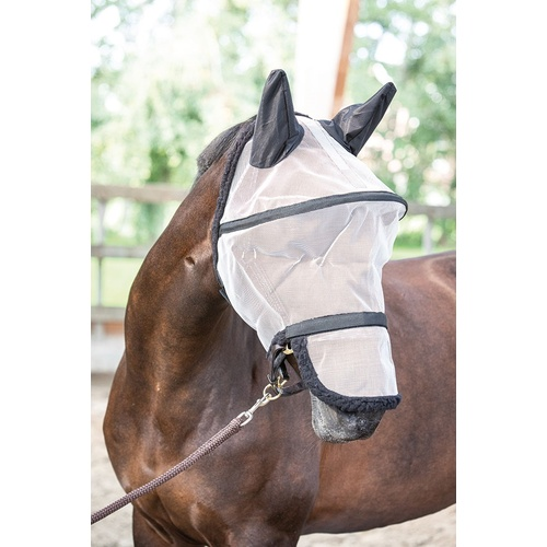 Harry's Horse B-Free Fly mask with nose & ears.