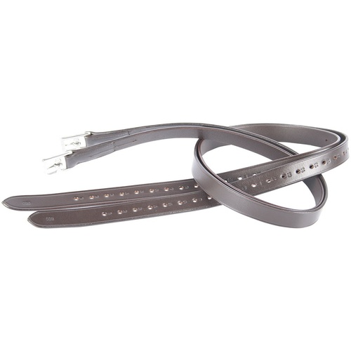 Harry's Horse Leather Stirrup Leathers - Brown Full