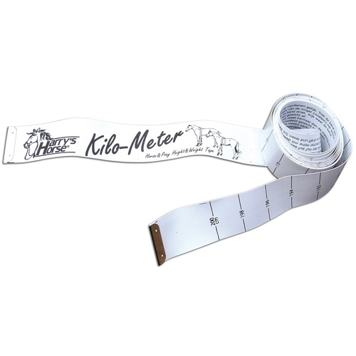 Harry's Horse Kilo-meter Height & weight tape measure