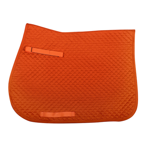 QHP color saddle pad- orange full dressage