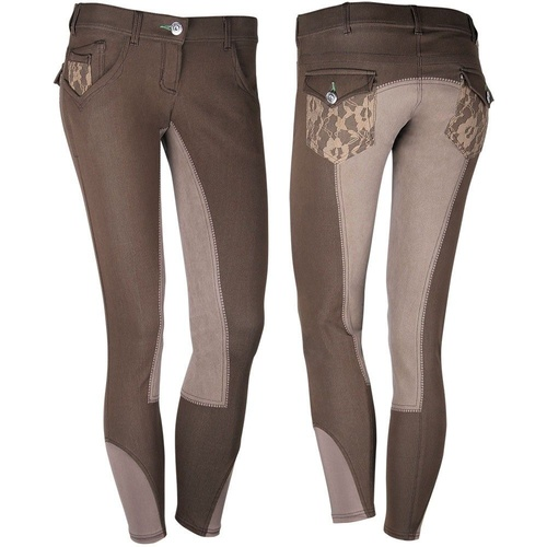Harry's Horse Milton Plus Sticky Bum Breeches - Brown