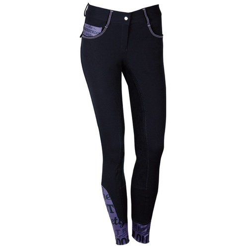 Harry's Horse Otley Plus Sticky Bum Breeches - Total Eclipse Navy Blue