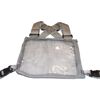 Ecotak Cross Country/Endurance Back Number Holder - grey
